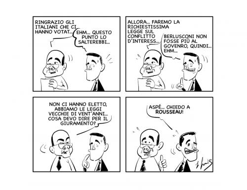 "La vignetta: ""Giurin giuretta!"""