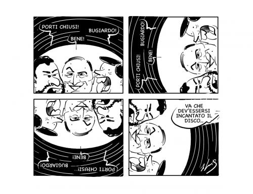 """La vignetta: """"Ritorno al vinile…"""""""
