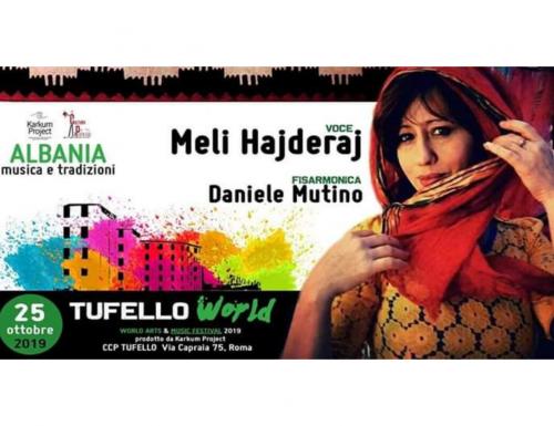 Il Tufello World Music Festival incontra l'Albania con la voce di Meli Hajderaj