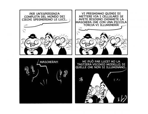 """La vignetta: """"Mi raccomando: via i cellulari…"""""""