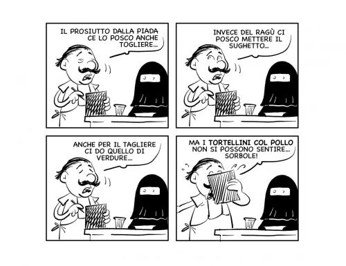 """La vignetta: """"Mo' sorbole!!"""""""