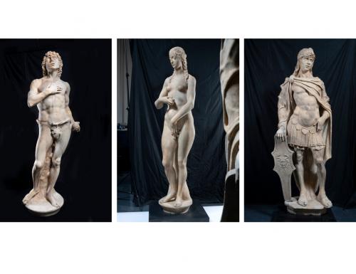Palazzo Ducale di Venezia, domani l'esposizione delle statue quattrocentesche di Antonio Rizzo dopo il restauro