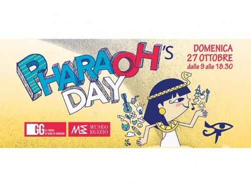 Pharaoh's Day, attività per bambini e famiglie al Museo Egizio di Torino.