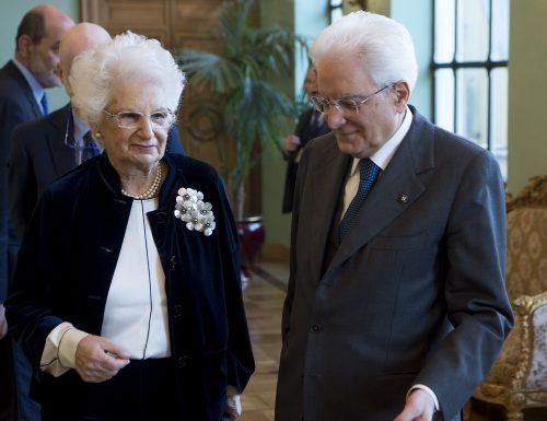 A Liliana Segre il Premio Internazionale Primo Levi e la cittadinanza onoraria di Genova