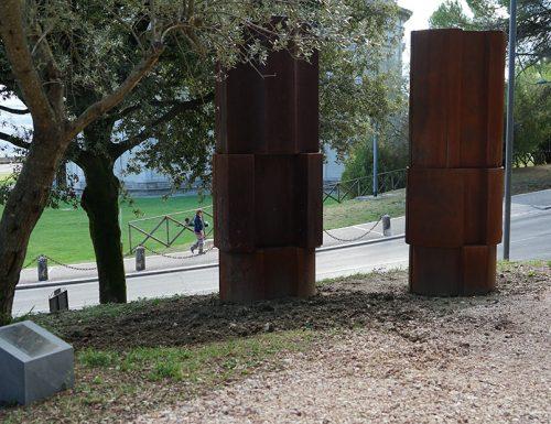 A Todi il parco di arte contemporanea monotematico con le opere dell'artista Beverly Pepper