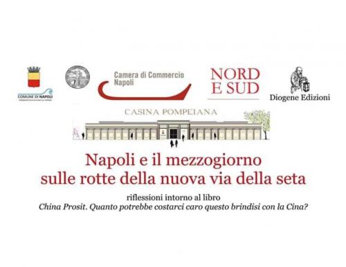 """""""China Prosit"""", alla Casina Pompeiana di Napoli il saggio informativo dell'imprenditore Mario Volpe"""