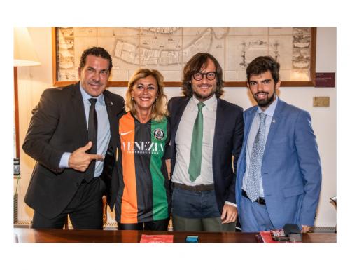 Fondazione Musei Civici e Venezia FC per insieme promuovere il patrimonio artistico della Città a livello internazionale e tra i giovani calciatori