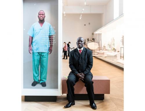 Interview with ophthalmologist surgeon Samson Akichem Lokele