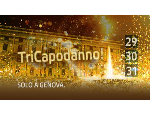 Genova, Capodanno 2020 in Piazza de Ferrari e Palazzo Ducale