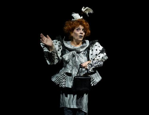 """Giorgia Trasselli e la passione per la recitazione. L'invito a vedere """"Miseria e nobiltà"""""""