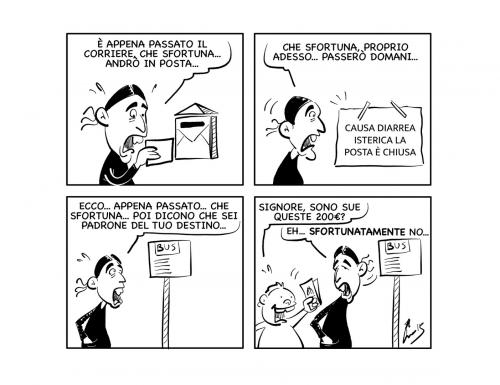 """La vignetta: """"Padroni del proprio destino?"""""""
