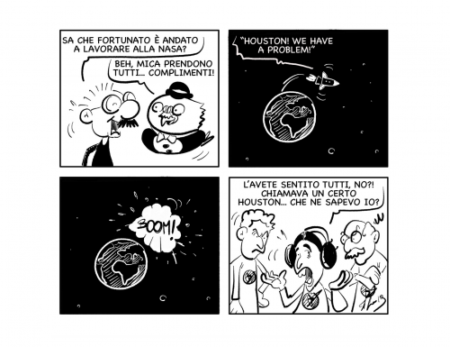 """La vignetta: """"Un lavoro prestigioso!"""""""