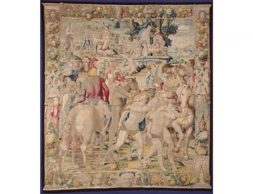 """""""Storie di Giuseppe, principe dei sogni"""", gli arazzi di Palazzo Vecchio"""
