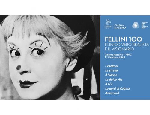 """Al Museo Nazionale del Cinema di Torino """"Fellini 100. L'unico vero realista è il visionario"""""""