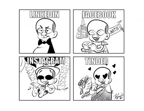 """La vignetta: """"Per ogni occasione…"""""""