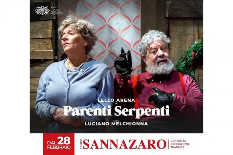 """""""Parenti serpenti"""", al Sannazzaro di Napoli la lucida riflessione sulla famiglia di Luciano Melchionna"""