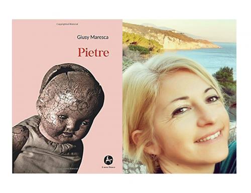 """""""Pietre"""", il simbolismo e l'impotenza umana nel libro di Giusy Maresca (VIDEO INTERVISTA)"""