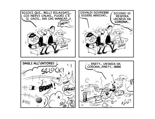 "La vignetta: ""Belli calmi…"""