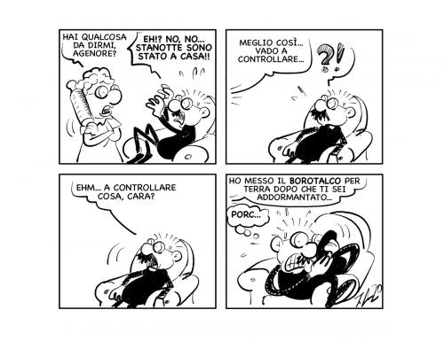 """La vignetta: """"Fidarsi è bene…"""""""