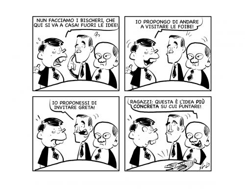 """La vignetta: """"Idee geniali!"""""""
