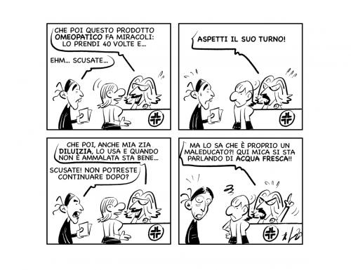 """La vignetta: """"Ne deve passare di acqua sotto i ponti…"""""""
