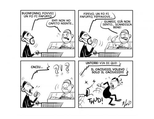 """La vignetta: """"Buona spesa"""""""