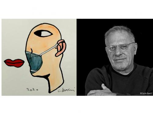 Carlo Bacci e l'arte (che non si ferma) ai tempi del Coronavirus