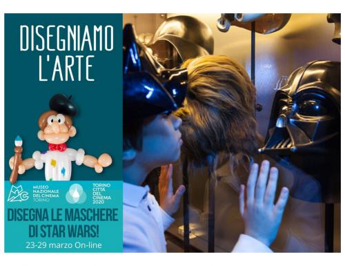 """Il Museo Nazionale del Cinema aderisce a """"Disegniamo l'arte….da casa!"""""""
