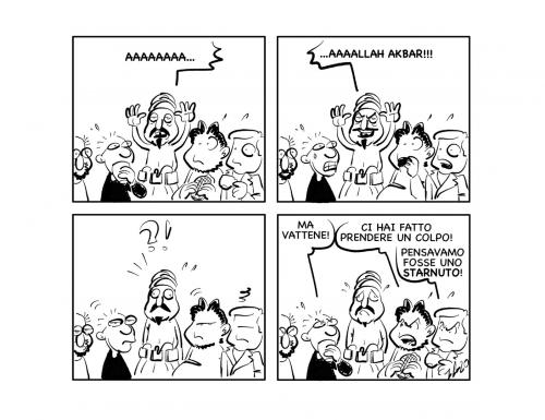 """La vignetta: """"AAAA…"""""""
