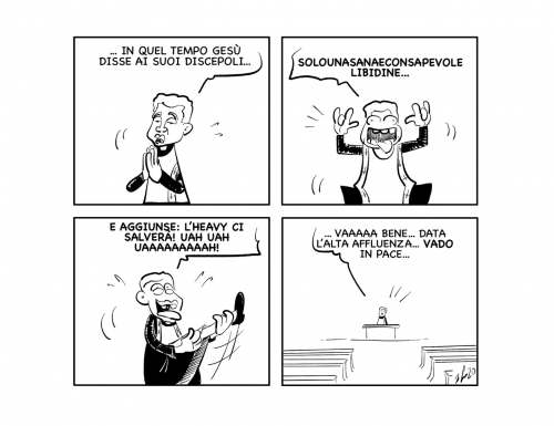"""La vignetta: """"Amen…"""""""