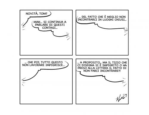"""La vignetta: """"Escamotage…"""""""