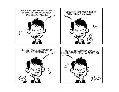 """La vignetta: """"Dopo la fase 1…"""""""