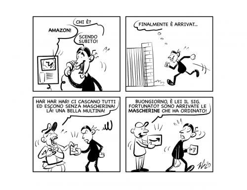 """La vignetta: """"Occhio ai… pacchi!"""""""