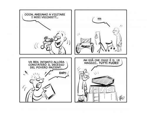 """La vignetta: """"Ecco perché…"""""""