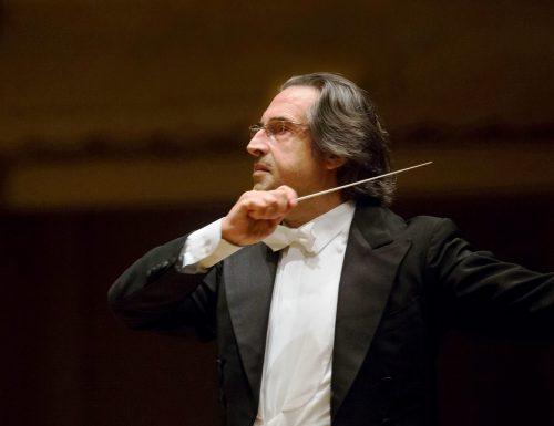 Il maestro Riccardo Muti inaugura il Festival dell'Arena di Verona