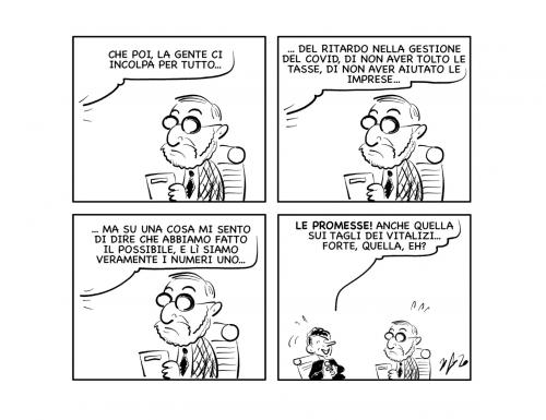 """La vignetta: """"Queste ci vengono bene…"""""""