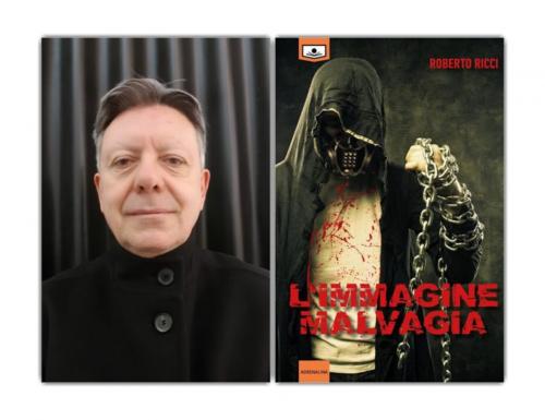 """""""L'immagine del brivido"""", l'ultimo romanzo del parrucchiere del brivido Roberto Ricci"""
