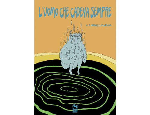 """""""L'uomo che cadeva sempre"""", il coloratissimo e surreale romanzo grafico di Lorenzo Pontani"""