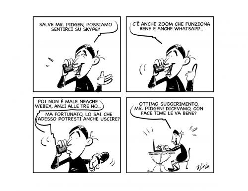 """La vignetta: """"Nuove connessioni…"""""""