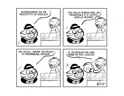"""La vignetta: """"Occhio alle aggiunte…"""""""