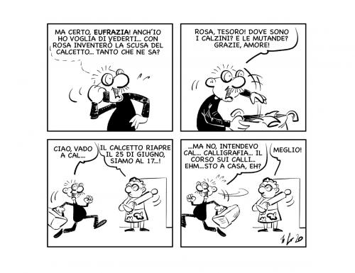 """La vignetta: """"Tenersi in… allenamento!"""""""