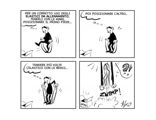 """La vignetta: """"Per un buon utilizzo…"""""""