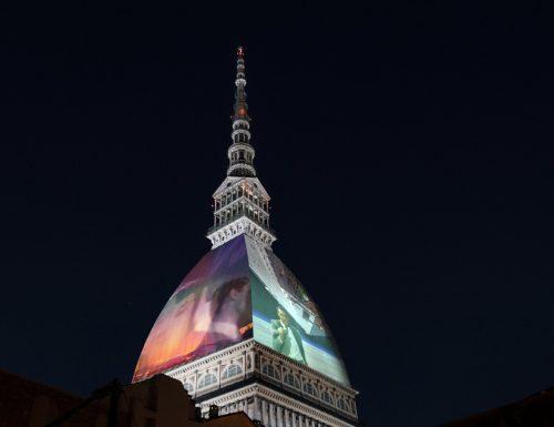 La cupola della Mole Antonelliana diventa videomapping