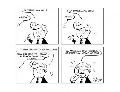 """La vignetta: """"Mah… forse…"""""""