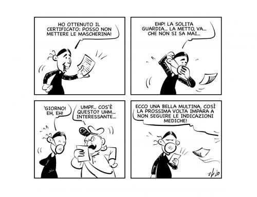 """La vignetta: """"Non si sa mai…"""""""