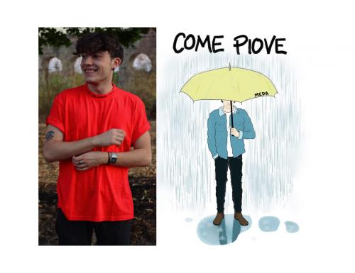 """Meda, """"Come Piove"""" è il suo nuovo singolo indie-pop"""