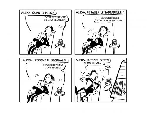 "La vignetta: ""Virtualmente parlando…"""