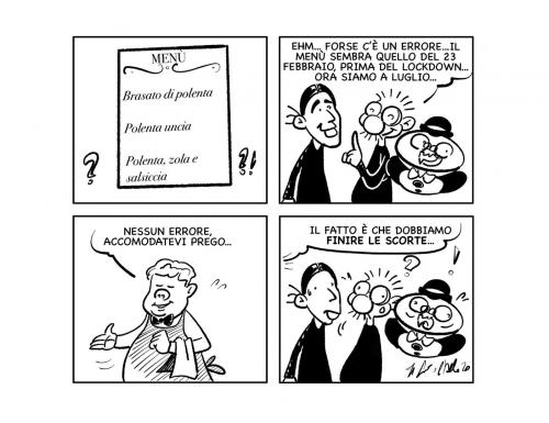 """La vignetta: """"Riaprono proprio tutti…"""""""