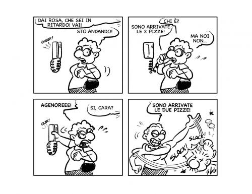 """La vignetta: """"In consegna!"""""""