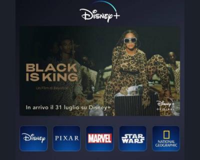 """""""Black is King"""", l'attesissimo visual album di Beyoncé in uscita il 31 luglio su Disney+"""